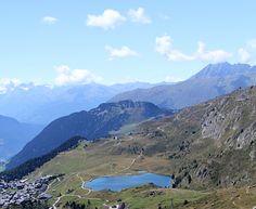 Bettmersee in Valais, Switzerland