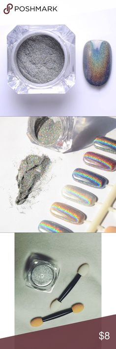 Holographic glitter powder for nails Holographic glitter powder for nails. 🌸 Fast shipper 🌸 Accept reasonable offers 🌸 I do bundle discounts too 🌸 No trades Other Holographic Powder, Holographic Glitter, Nails, Finger Nails, Ongles, Nail, Nail Manicure