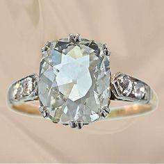 Antique Engagement Ring - Custom Make vintage jewelry on Morpheus! www.morphe.us.com