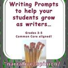"""NOTE: This is a bundled set of three other resources in my store available at a reduced """"bundle"""" price...    Demand Writing Prompts: Narrative Writing Set  Demand Writing Prompts: Opinion Writing Set  Demand Writing Prompts: Descriptive Writing Set    By far one of the biggest """"difference makers"""" for me as a """"teacher of writers"""" has been my use of demand prompts to guide instruction.  This set includes 24 prompts--3 of each genre and includes easy-to-use assessment checklist!"""