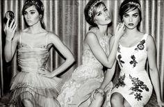 "Vogue UK Abril 2015 | ""Girls On Film"" por Mario Testino [Editorial]"