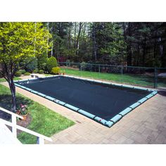 Robelle Next-Generation Pro-Select/ Optimum Ripshield Winter Cover for In-Ground Pools (16 x 32 Pool - )