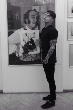 stephen james with dali