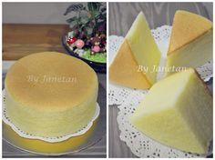 Ogura Cake, Cotton Cake, Japanese Cake, Sponge Cake, Vanilla Cake, Cake Decorating, Cheese, Cookies, Baking
