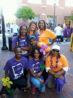The team at Brighton Gardens of Buckhead in Atlanta, GA, enjoying their local Walk to End Alzhiemer's!