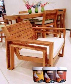 Furniture Jati Belanda menggunakan biovarnish #kayu #biovarnish #bio #bioindustries #catkayu #kayu #wood #woodworker #woodworking #hobikayu #woodfiller #woodstain #clearcoat
