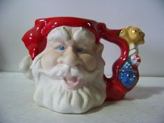 Jim Beam Angelo's Santa Claus Tobby Mug By Regal China Books $100.00