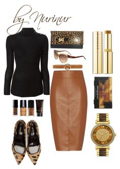 """""""This is style"""" by nurinur ❤ liked on Polyvore featuring Balmain, Smashbox, Bailey 44, Just Cavalli, Wander Beauty and Michael Kors"""