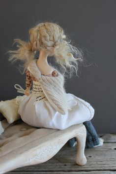 Talvi Art doll by Abi Monroe, via Flickr