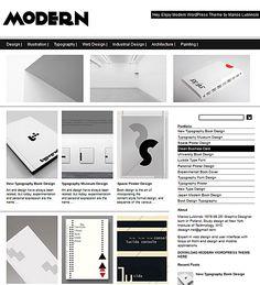 Modern Theme « Premium Portfolio Responsive WordPress Themes – Dessign