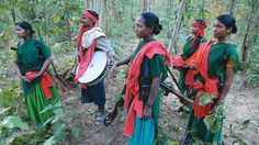 """Women in India's Naxalite community. From Arundhati Roy's essay, """"Walking With the Comrades."""""""