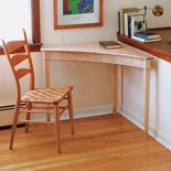 A Contemporary Corner Table