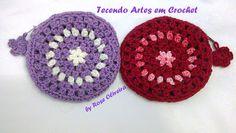 Tecendo Artes em Crochet: Bolsinhas Porta- Moedas