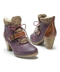 Look at this #zulilyfind! Burgundy Leah Boot - Women by MUK LUKS #zulilyfinds