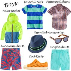 Toddler Style: Summer Essentials for Boys via La Dauphine