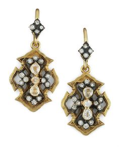 Wings of Fortune Earrings by Armenta at Neiman Marcus.