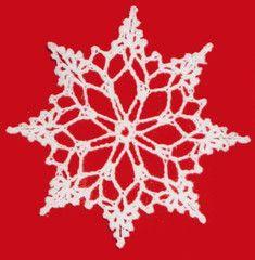 Maggie's Crochet · Lacy Snowflake - Free Crochet Pattern
