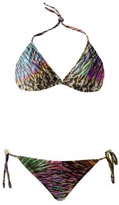 Menthol Burst Crystal Bikini is pure Summer!