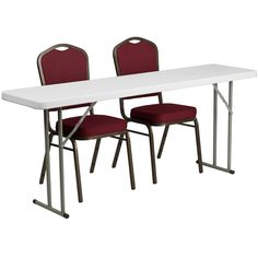 folding table set RB-1872-1-GG