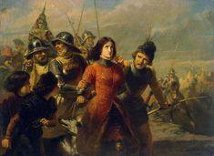 Жанна д'Арк в живописи - REFERENCES & INSPIRATIONS Capture of Joan of Arc Adolf Alexander Dillens, (1821–1877)