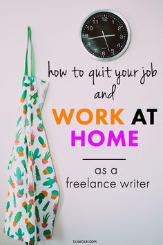 Start freelance writing and work at home as a freelance writer. Quit your job, your and be an entrepreneur with a small business working at home. Online Writing Jobs, Freelance Writing Jobs, Online Jobs, Business Motivation, Business Tips, Business Quotes, Online Business, Make Money Blogging, How To Make Money