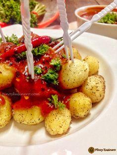 Patatas Bravas, Spanish Tapas Tapas Month on Foodies+ Spanish Tapas, Spanish Food, Filipino Recipes, Filipino Food, Spicy Tomato Sauce, Antipasto, Foodies, Appetizers, Favorite Recipes