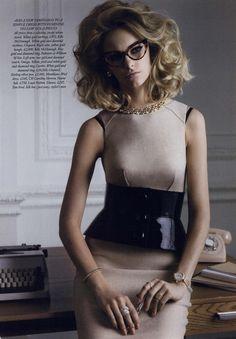 Harper's Bazaar UK Editorial Why Miss Jones!, September 2011 Shot #3