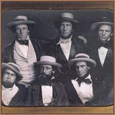 This Day In Baseball History: September 23,1845 - The Knickerbocker Base Ball Club of New York was formed by Alexander Joy Cartwright (center, back row). It was the first baseball team in America.