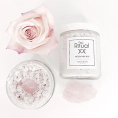 Coconut Rose Moon Milk Bath, a luxurious hydration milk soak fit for a goddess. Includes a rose Quartz stone amplifying heart chakra and love vibrations. Available @theritualstore #theritualstore#rituals#theritual#dailyrituals#beautyrituals#beauty#ritualbeauty#rituals#vegan#veganbeauty#bathtime#bathsoak#luxbeauty#milkbath#rosequartz#pamperyourself#bathsoaks#luxury#goddess#goddessglow#vegan#rose#crystalinfused#rosequartz#heartchakra#love#roses #Regram via @theritualstore