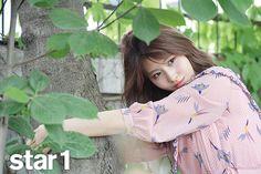 Momo (Twice) - Magazine June Issue - Korean photoshoots South Korean Girls, Korean Girl Groups, Japanese Park, Twice Photoshoot, Sana Minatozaki, Hirai Momo, Extended Play, What Is Love, Nayeon