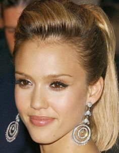 Jessica Alba Makeup Looks | Indian Beauty Forever