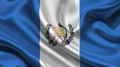 Guatemalan Flag for Wallpaper