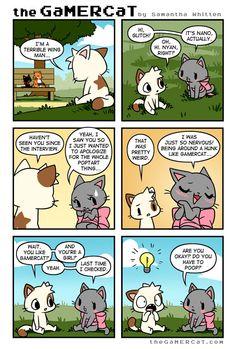 Not Over Yet - Samantha Witten [GAMERCAT] - Nano/Nyan cat is soo cute! :D
