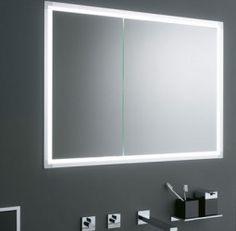 Sprinz Classical-Line Unterputz Spiegelschrank umlaufend beleuchtet ...