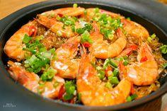 中式鮮蝦粉絲煲食譜、作法 | 娜塔 Nata的多多開伙食譜分享