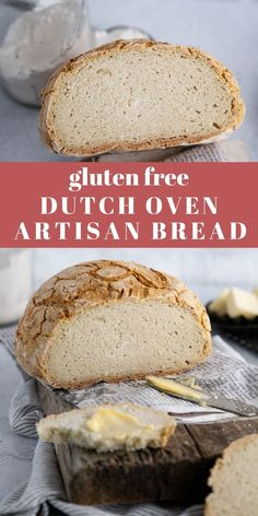 Have homemade gluten free bread easily with this gluten free dutch oven artisan bread recipe. Dutch Oven Artisan Bread Recipe, Artisan Bread Recipes, Gluten Free Recipes For Breakfast, Healthy Gluten Free Recipes, Easy Recipes, Gluten Free Bread Rolls Recipe, Sugar Free Bread, Breakfast Cookies, Free Breakfast
