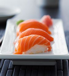 Recette de Sushis au saumon