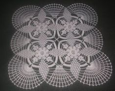 Crochet Art, Irish Crochet, Crochet Doilies, Crochet Projects, Diy And Crafts, Projects To Try, Stitch, Blanket, Pattern