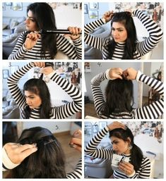 easy criss cross hair style