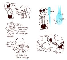 YOU SLIPPERY SNAIL!!!---*distant Megalovania* Sans and Frisk/Chara