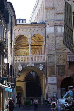 Palazzo della Ragione. Built 1208 - Padua, Veneto, Italy