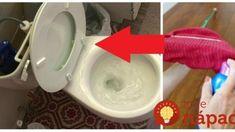 WC čisté cele týždne a už žiadne zaschnuté kvapky na sprcháči: Triky na čistenie od profíkov, ktoré vám ušetria tonu času! Home Hacks, Interior Design Living Room, Plastic Cutting Board, Diy And Crafts, Good Things, Design Ideas, Gardening, Tips, Beauty