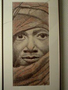 potlood Keniaanse vrouw 2004