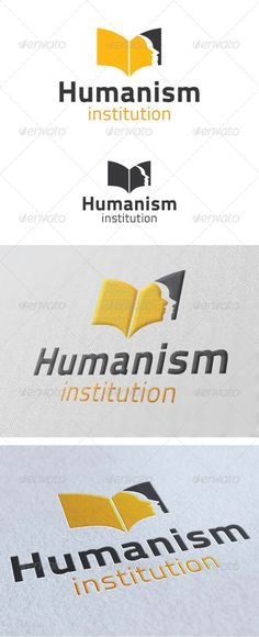 Humanism Institution Logo Template