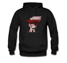 Novelty Binding of Isaac Characters leg Mother's heart Male's Crew Neck Hoodie