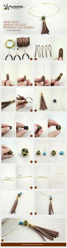 Need to add something special to your outfits? You can make a change by creating this handmade jewelry necklace. This post is exactly about making creative necklace pendants for women.