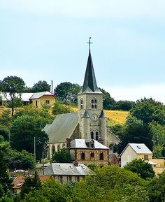 Small church in Normandy, France #Travel #Discover #Tour