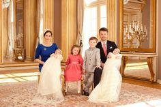 Crown Princess Mary, Crown Prince Frederik, Prince Vincent, Princess Josephine, Prince Christian and Princess Isabella (Denmark)