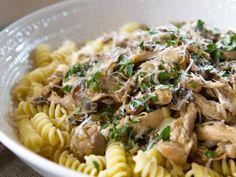 Rotini with Chicken Marsala,  Book and Wine Club - Trisha's Southern Kitchen, season 9