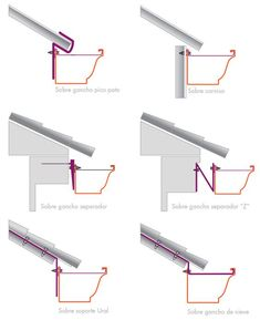 Pin ulembekov ruf construction detail and metal roof diagram ingbert drawings civil engineering structural analysis architecture Shed Roof, House Roof, Roof Architecture, Architecture Details, Roof Design, House Design, Steel Roofing, Tin Roofing, Roofing Shingles
